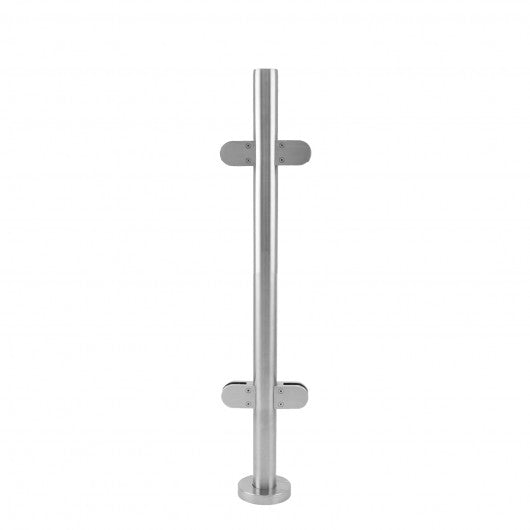 MonsterShop Stainless Steel Balustrade, Mid Post, 90cm H - techni-pros