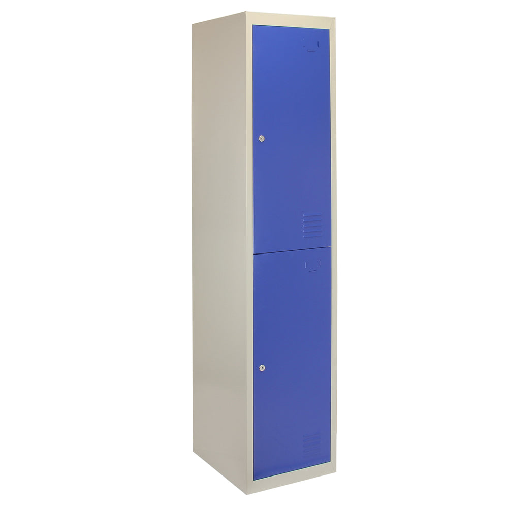 metal-storage-lockers-two-doors-blue Techni-Pros - techni-pros