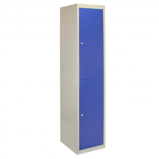 metal-storage-lockers-two-doors-flatpacked-blue Techni-Pros - techni-pros