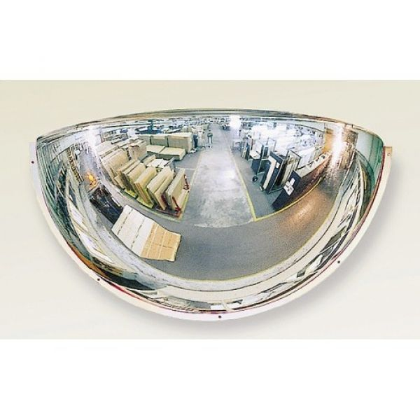 1150mm Diameter PMMA Quarter-Sphere 180 Degree Industrial Safety Mirror Techni-Pros - techni-pros