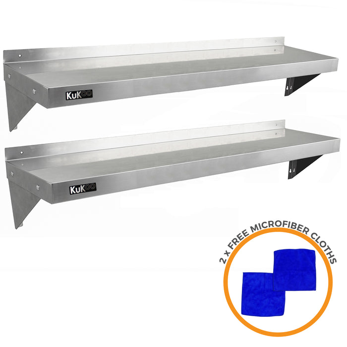 2-x-kukoo-stainless-steel-shelves-1400mm-x-300mm Techni-Pros - techni-pros