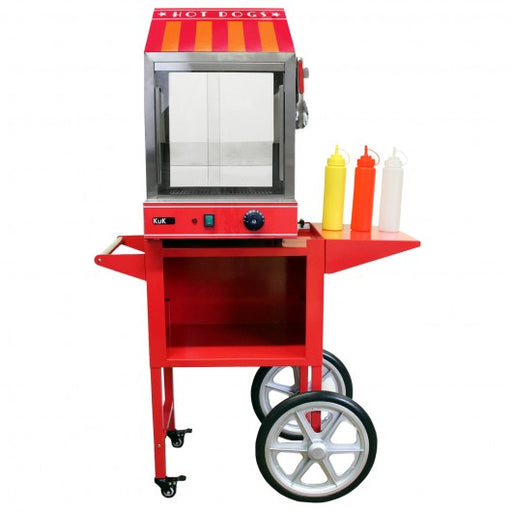 kukoo-commercial-hot-dog-steamer-cart Techni-Pros - techni-pros