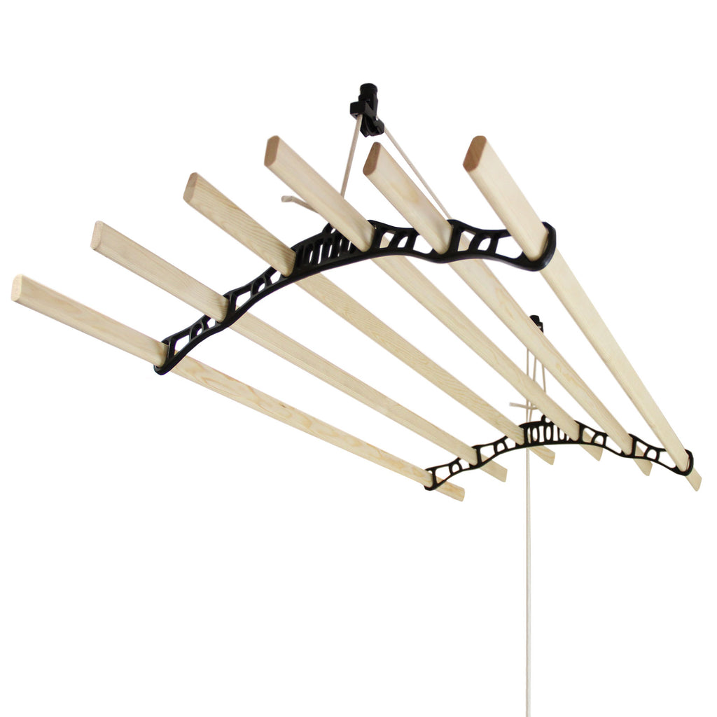 clothing-airer-ceiling-pulley-black-1-8m Techni-Pros - techni-pros