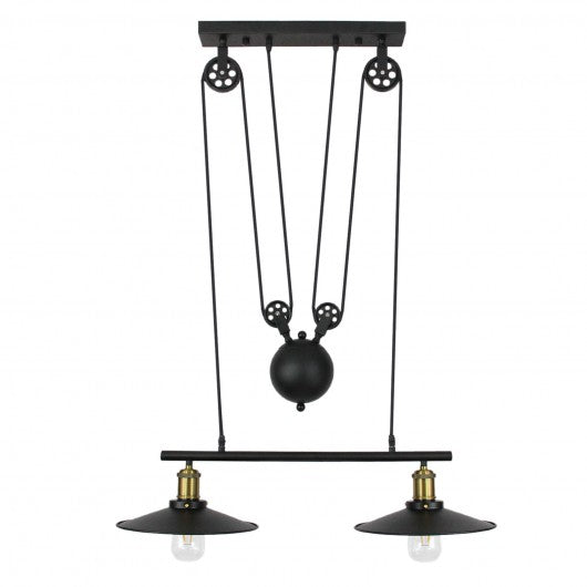 pendant-pulley-hanging-lights-black Techni-Pros - techni-pros