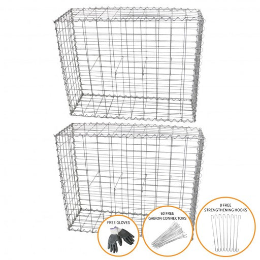 gabion-baskets-100-x-80-x-30cm-2-pack Techni-Pros - techni-pros