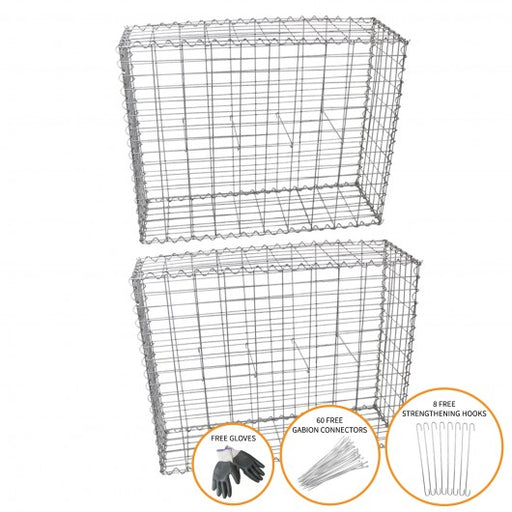 gabion-baskets-100-x-95-x-30cm-2-pack Techni-Pros - techni-pros