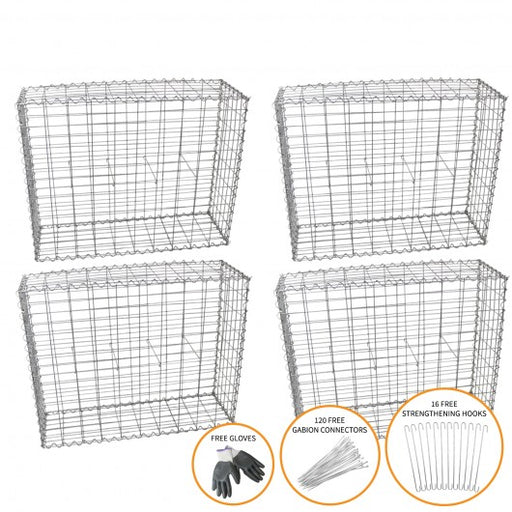 gabion-baskets-100-x-95-x-30cm-4-pack Techni-Pros - techni-pros