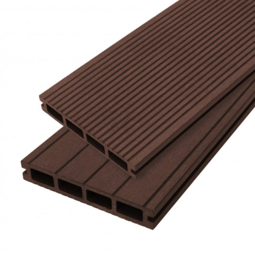 Jardí Composite Decking - Conker Brown - techni-pros