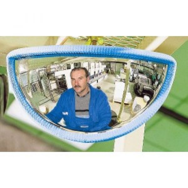 288 x 68 x 151mm P.A.S Forklift Truck Rear View Safety Mirror Techni-Pros - techni-pros
