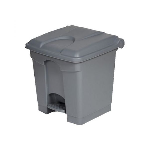 Plastic Pedal Operated Litter Bin - 30 Litre Techni-Pros - techni-pros