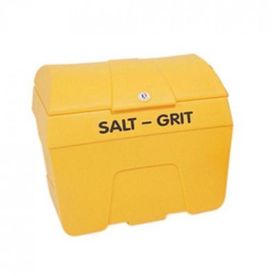 7 Cu Ft Curved Top Grit Bin - 200 Litre / 200 kg Capacity - Techni-Pros