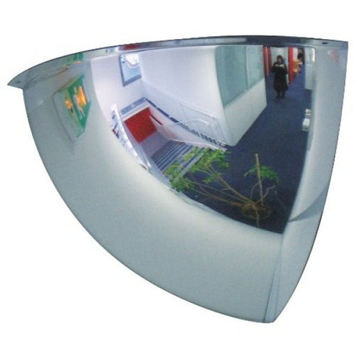 800mm Diameter PMMA 1/8 Sphere Security and Surveillance Mirror Techni-Pros - techni-pros