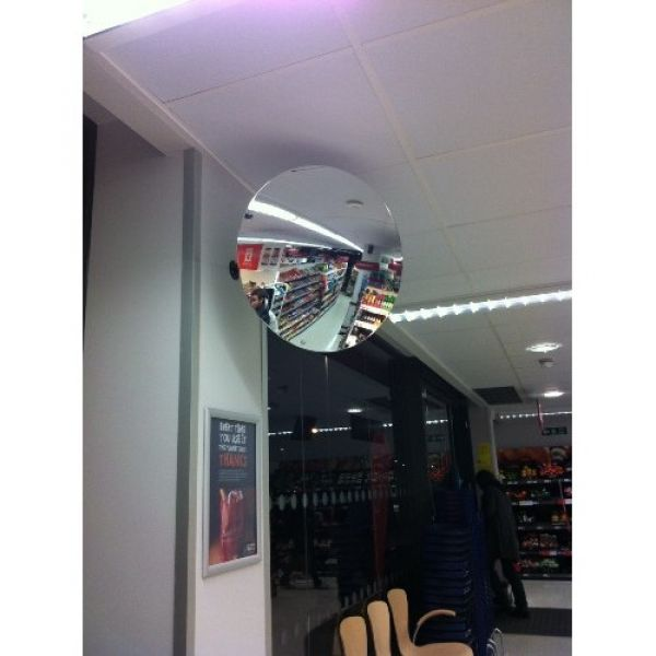 300mm Diameter Polymir Security and Surveillance Mirror Techni-Pros - techni-pros