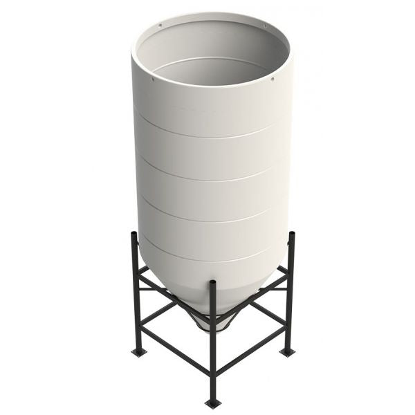 Enduramaxx 3650 Litre 60 Degree Open Top Cone Tank Techni-Pros - techni-pros