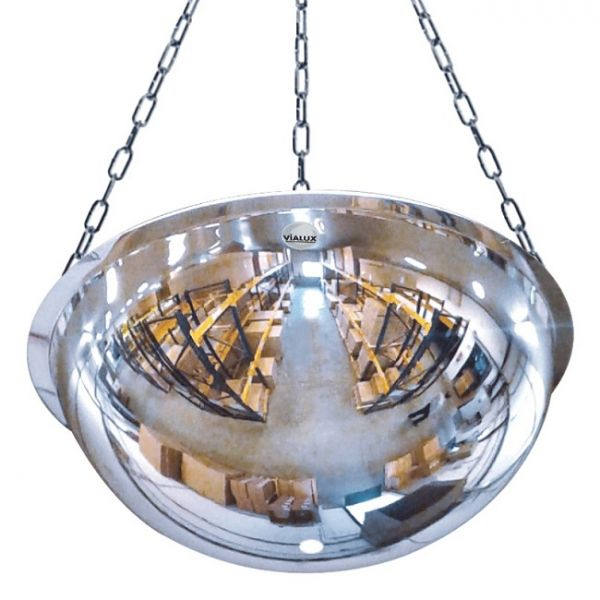 1150mm Diameter PMMA Half-Sphere 360 Degree Industrial Safety Dome Mirror Techni-Pros - techni-pros