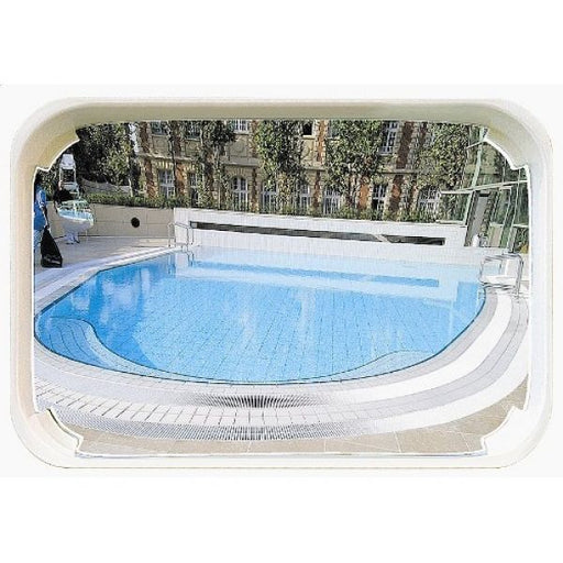 1000 x 800mm P.A.S Outdoor Swimming Pool Safety and Surveillance Mirror Techni-Pros - techni-pros