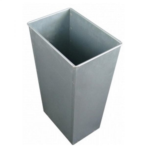 39 Litre Rectangular Galvanised Steel Liner Techni-Pros - techni-pros
