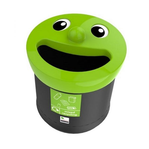 Novelty Face Litter Bin - 40 Litre Techni-Pros - techni-pros