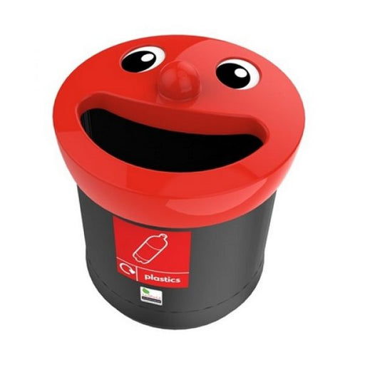 Novelty Face Recycling Bin - 52 Litre Techni-Pros - techni-pros