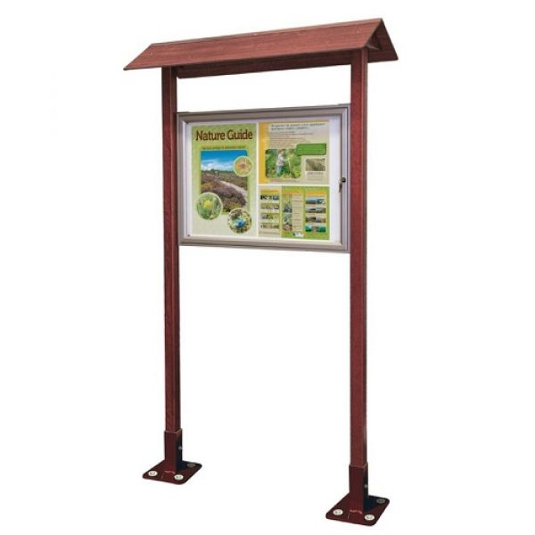Park Notice Board - 8x A4 Techni-Pros - techni-pros