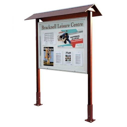 Park Notice Board - 18x A4 Techni-Pros - techni-pros