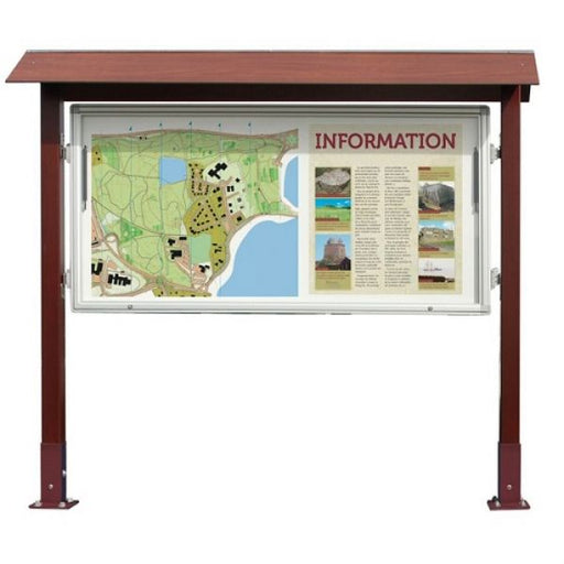 Park Notice Board - 27x A4 Techni-Pros - techni-pros