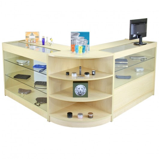 jupiter-maple-shop-counter-retail-display-set Techni-Pros - techni-pros