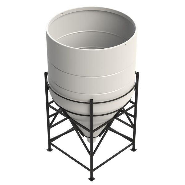 15 Degree Open Top Cone Tanks
