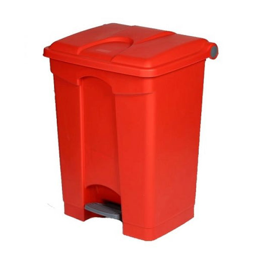 Plastic Pedal Operated Litter Bin - 70 Litre Techni-Pros - techni-pros