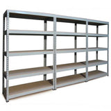 q-rax-grey-metal-shelving-units-120cm-x-180cm-x-50cm Techni-Pros - techni-pros