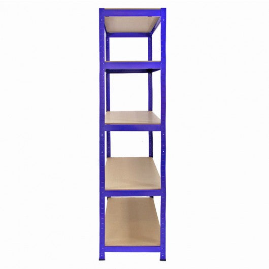 3-x-monster-racking-t-rax-metal-storage-shelves-blue-90cm-w-45cm-d Techni-Pros - techni-pros
