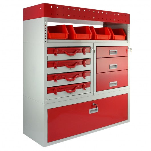 Firecracker Metal Van Racking - techni-pros