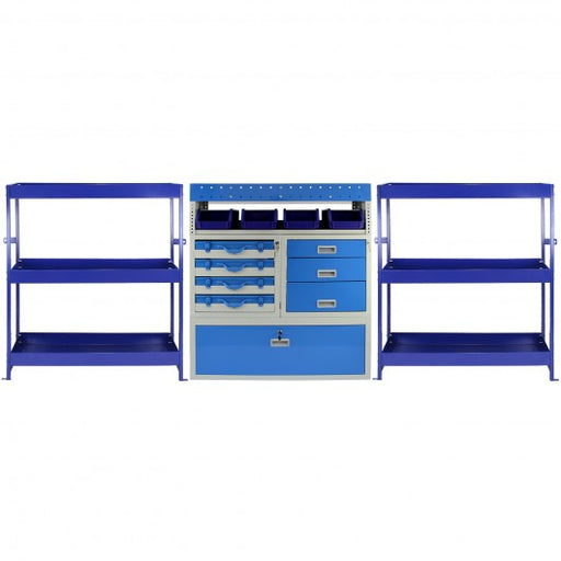 Monster Racking Tempest Metal Van Shelving Bundle - techni-pros