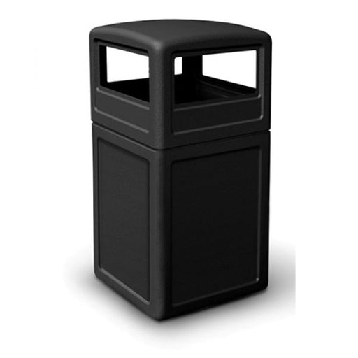 Square Litter Bin with Dome Lid - 140 Litre - techni-pros