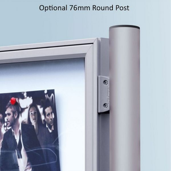 Outdoor 2000 Series Double Sided Poster Case - 2x 9 A4 Techni-Pros - techni-pros