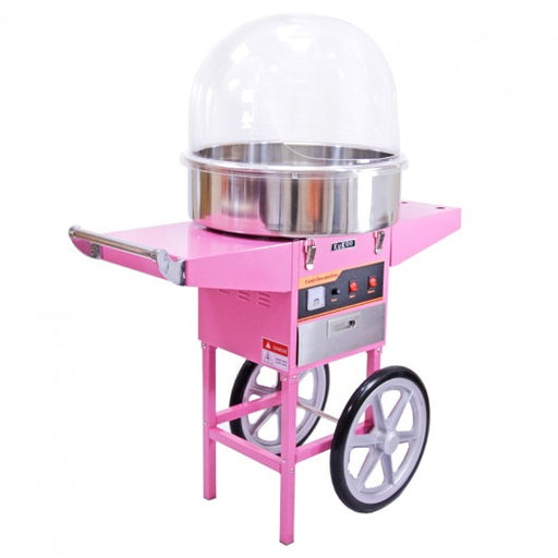 kukoo-candy-floss-machine-with-cart-protective-dome Techni-Pros - techni-pros