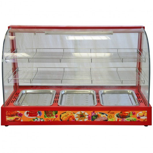 kukoo-90cm-wide-glass-food-warmer Techni-Pros - techni-pros