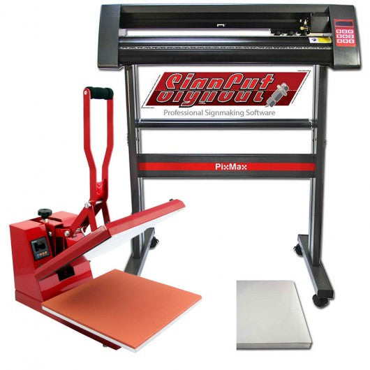 pixmax-heat-press-machine-vinyl-cutter-plotter-signcut-pro-software-bundle Techni-Pros - techni-pros