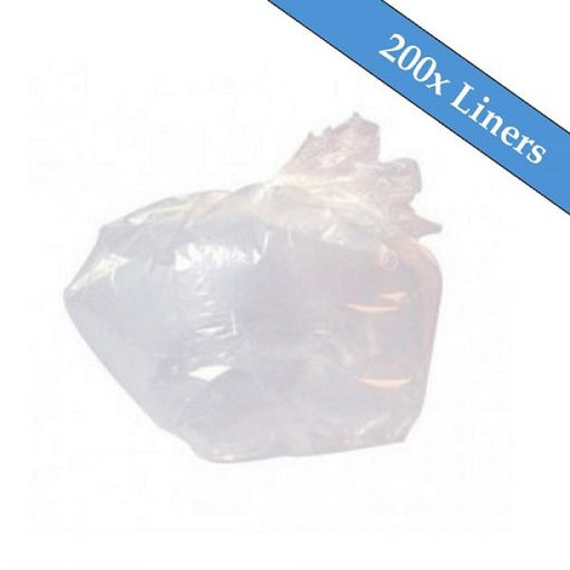 "Medium Duty Clear Refuse Sacks 18"" x 29"" x 39""- 200 Liners Per Box Techni-Pros - techni-pros"