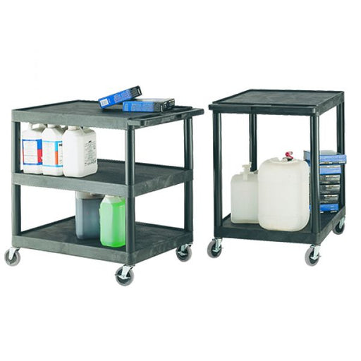 Plastic Multi-Purpose Shelf Trolley Techni-Pros - techni-pros