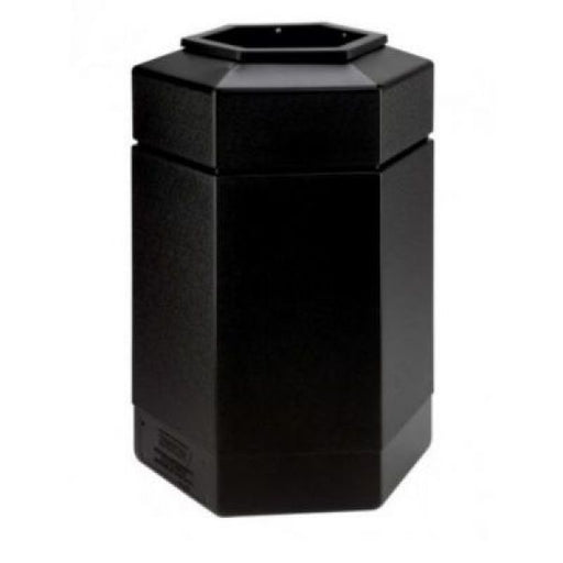 Hexagon Shaped Litter Bin - 185 Litre Techni-Pros - techni-pros