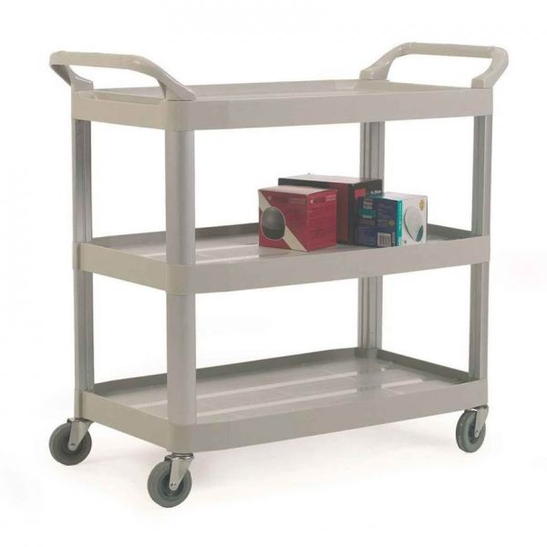 Plastic 3 Shelf Service Trolley Techni-Pros - techni-pros