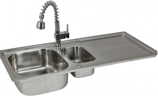 KuKoo Stainless Steel Sink and Tap Techni-Pros