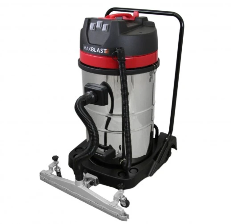 MAXBLAST 80L Industrial Vacuum Cleaner with Floor Nozzle Attachment Techni-Pros