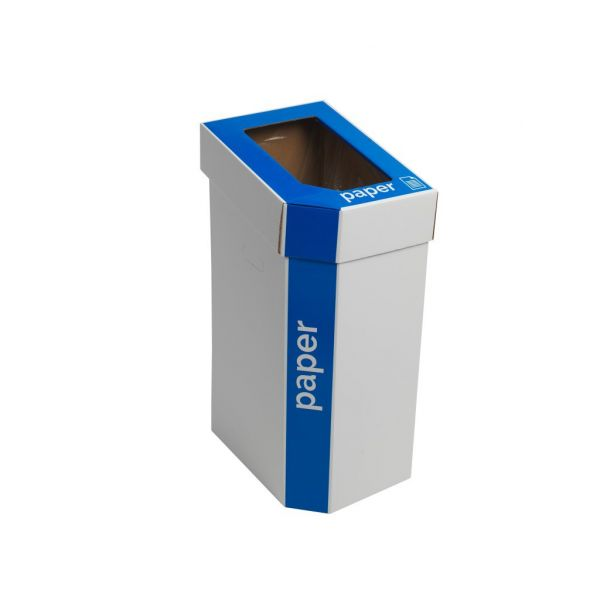 MyBin Classic Mixed Cardboard Recycling Bins 60 Litres - Pack of 5 Techni-Pros - techni-pros