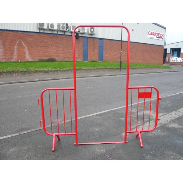 Steel Walk-Through 2.25m Barrier Techni-Pros - techni-pros