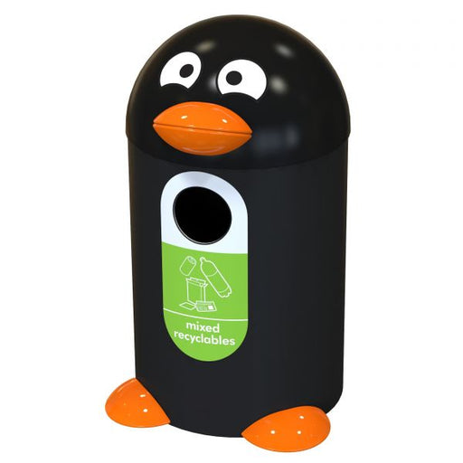 Penguin Buddy Recycling Bin - 55 Litre Techni-Pros - techni-pros