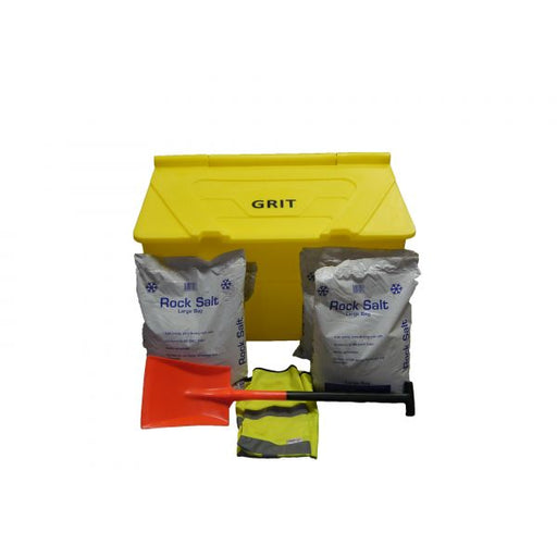 7 Cu Ft Grit Bin Winter Pack Techni-Pros - techni-pros