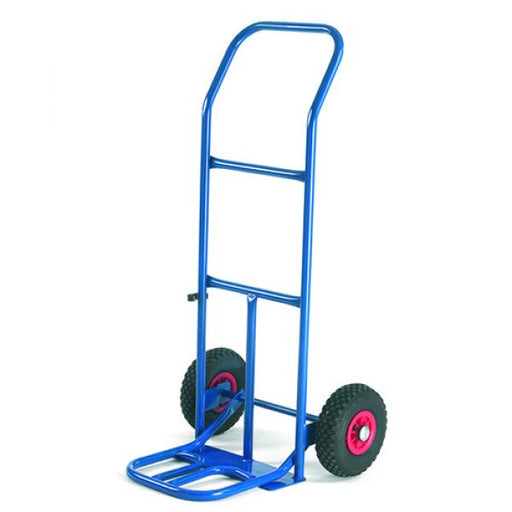 Folding Toe Sack Truck with Pneumatic Wheels Techni-Pros - techni-pros