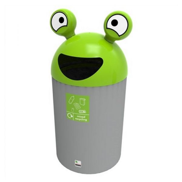 SpaceBuddy Alien Recycling Bin - 84 Litre Techni-Pros - techni-pros